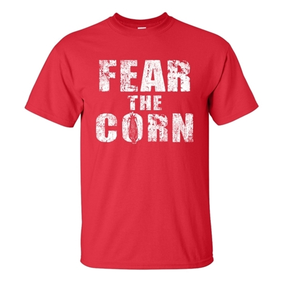 Picture of NU Fear the Corn Short Sleeve Shirt (NU-010)