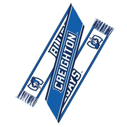 Picture of Creighton Jacquard Knit Sports Scarf