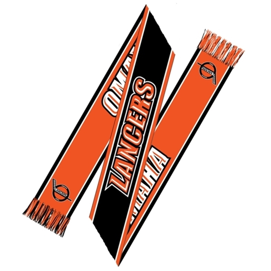 Picture of Omaha Lancers Jacquard Knit Sports Scarf