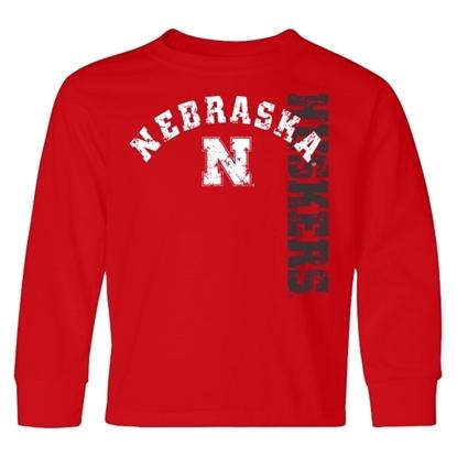 Picture of Nebraska Little King® Toddler Long Sleeve Shirt