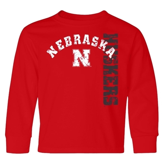 Picture of Nebraska Little King® Toddler Long Sleeve Shirt