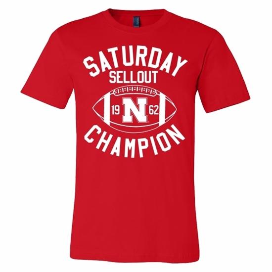 Picture of Nebraska Football Soft Cotton Short Sleeve Shirt (NU-223)