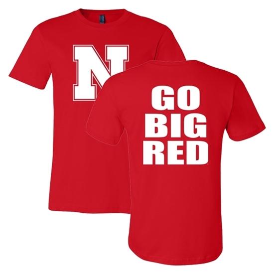 Picture of Nebraska Soft Cotton Short Sleeve Shirt (NU-120)