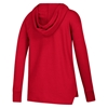 Picture of Nebraska Adidas® Ladies Silver Dot Fleece Hood