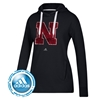 Picture of Nebraska Adidas® Ladies Primary Logo Fleece Hood