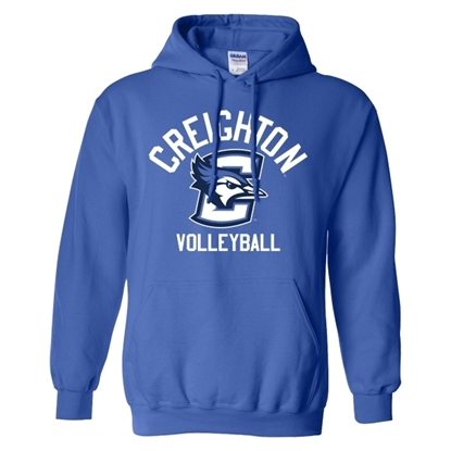 Picture of Creighton Volleyball Hooded Sweatshirt (CU-184)