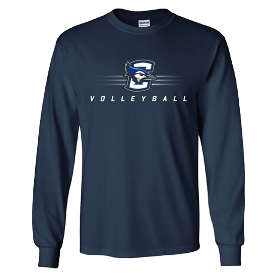 Picture of Creighton Volleyball Long Sleeve Shirt (CU-182)