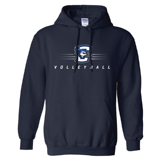 Picture of Creighton Volleyball Hooded Sweatshirt (CU-182)