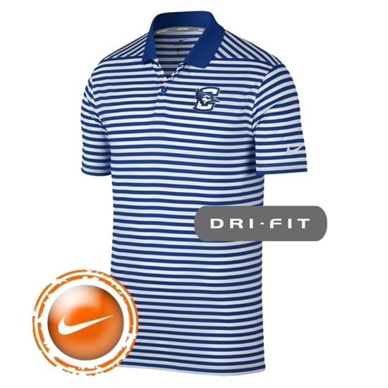 Picture of Creighton Nike® Golf Victory Mini Stripe Polo