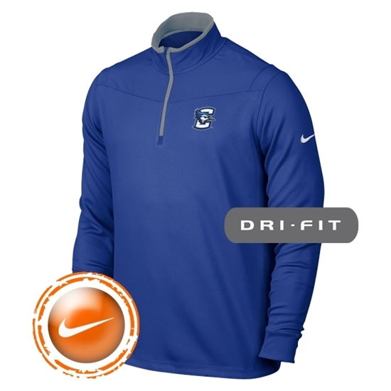 Picture of Creighton Nike® Golf Dri-Fit ½ Zip Long Sleeve Pullover