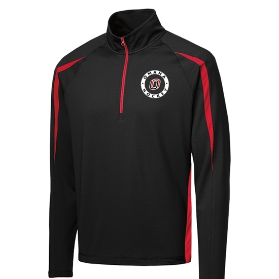 Picture of UNO Hockey Sport Stretch ½ Zip Colorblock Pullover
