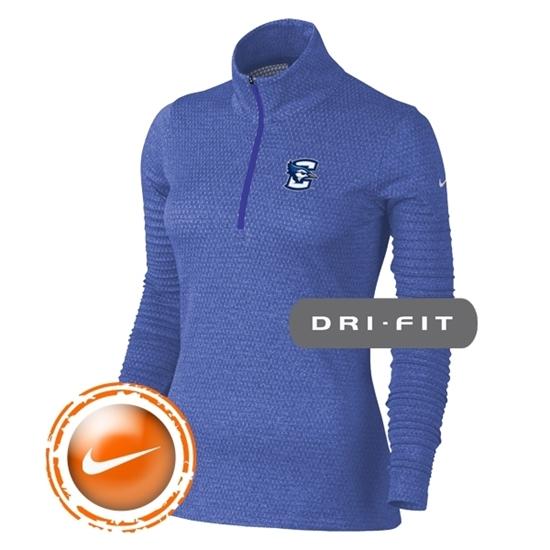 Picture of Creighton Nike® Golf Ladies Lucky Azalea ½ Zip Pullover