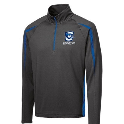 Picture of Creighton Basketball Sport Stretch ½ Zip Colorblock Pullover