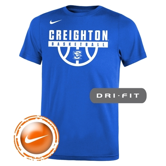 Picture of CU Nike® Youth Basketball Legend Short Sleeve Shirt