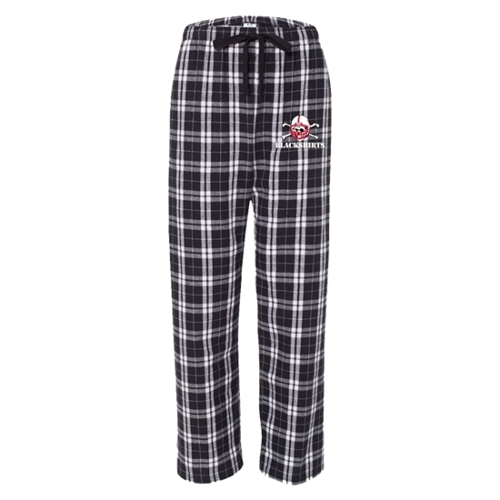Picture of NU Blackshirts Flannel Pants