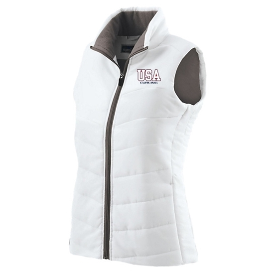 Picture of Curling World Cup Ladies Admire Puffy Vest
