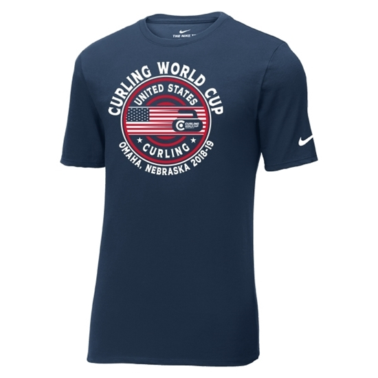 Picture of Curling World Cup Nike® Patriot Core Cotton Short Sleeve Shirt