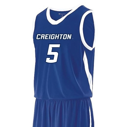 Picture of Creighton #5 Youth Replica Basketball Jersey