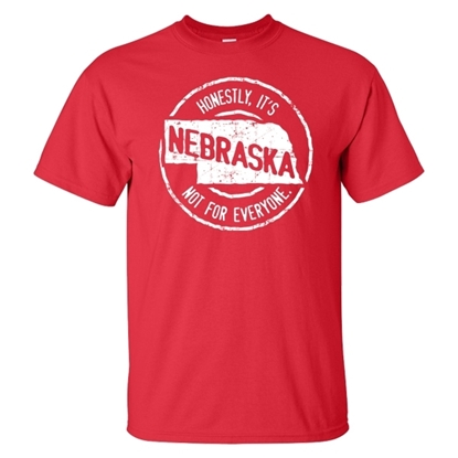 Picture of Nebraska Not For Everyone Short Sleeve Shirt