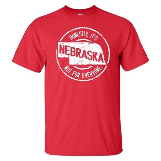 Picture of Nebraska Not For Everyone Short Sleeve Shirt