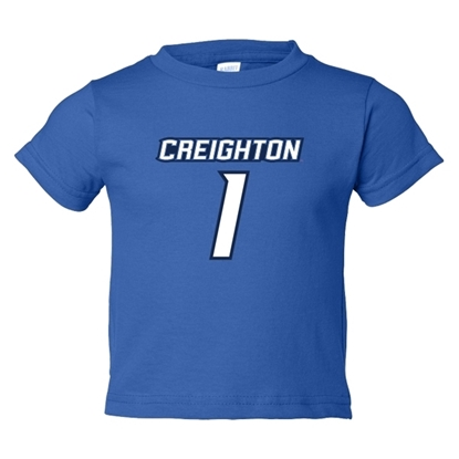 Picture of Creighton Infant Jersey Short Sleeve Shirt
