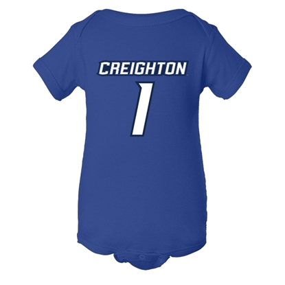 Picture of Creighton Infant Jersey Romper