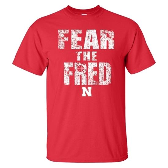 Picture of Nebraska Basketball Short Sleeve Shirt (NU-233)