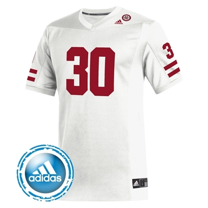 Picture of Nebraska Adidas® #30 Replica Football Jersey
