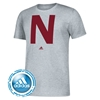 Picture of NU Adidas® Iron N College Vault Short Sleeve Shirt
