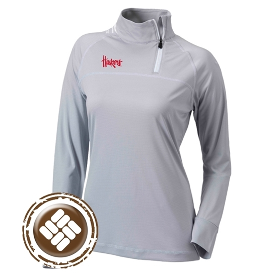 Picture of Nebraska Columbia® Ladies New Classic ¼ Zip Pullover