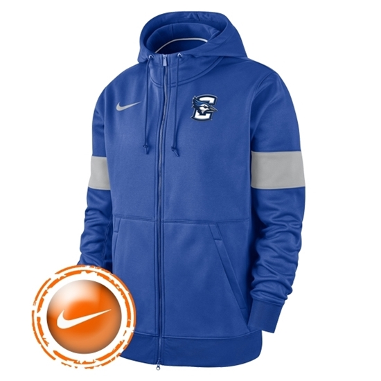 Picture of Creighton Nike® Sideline Therma-Fit Full Zip Hoodie