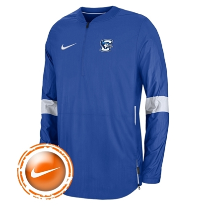 Picture of Creighton Nike® Sideline Coaches Lightweight ½ Zip Pullover