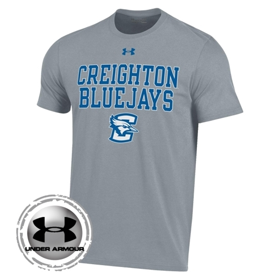 Picture of Creighton Under Armour® Performance Cotton Short Sleeve Shirt