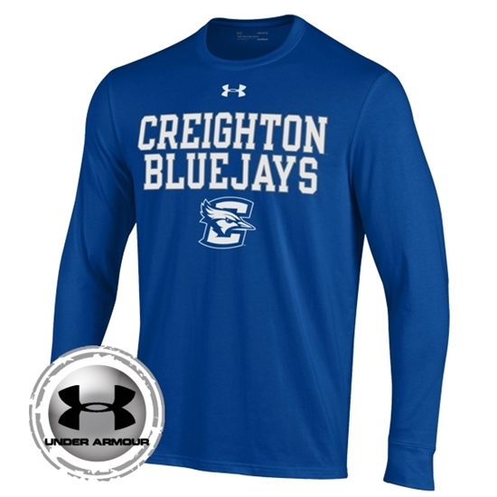 Picture of Creighton Under Armour® Performance Cotton Long Sleeve Shirt