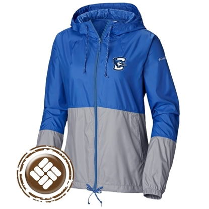 Picture of Creighton Columbia® Ladies Flash Forward Windbreaker