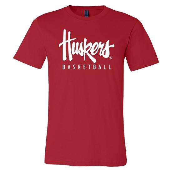 Picture of Nebraska Basketball Soft Cotton Short Sleeve Shirt (NU-244)