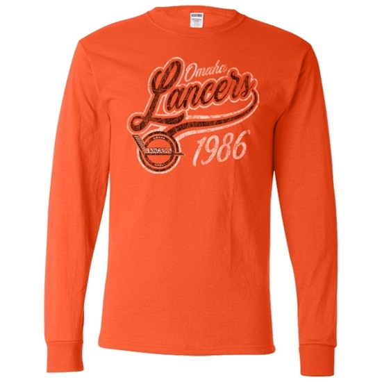 Picture of Omaha Lancers Long Sleeve Shirt (LANCERS-225)