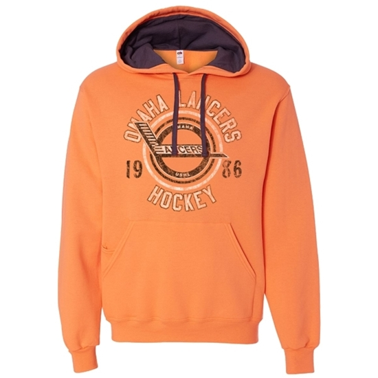 Picture of Omaha Lancers Soft Cotton Hooded Sweatshirt (LANCERS-224)