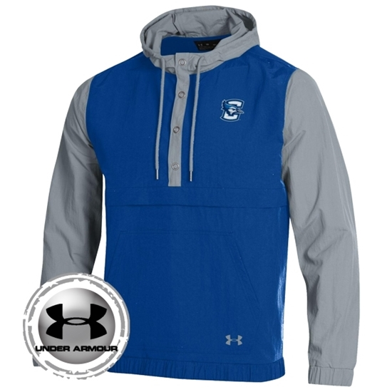 Picture of Creighton Under Armour® Crinkle Anorak Snapdown Pullover