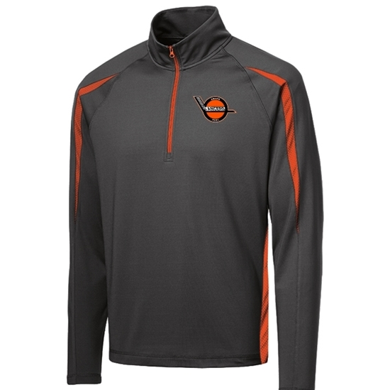 Picture of Omaha Lancers Sport Stretch ½ Zip Colorblock Pullover
