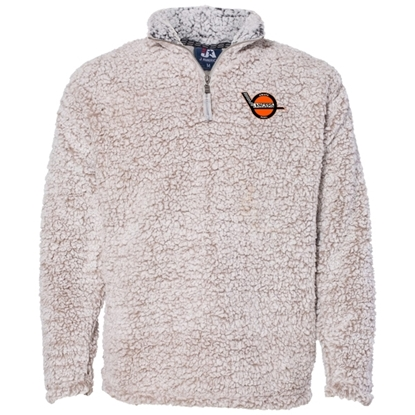 Picture of Omaha Lancers Sherpa Fleece ¼ Zip Pullover