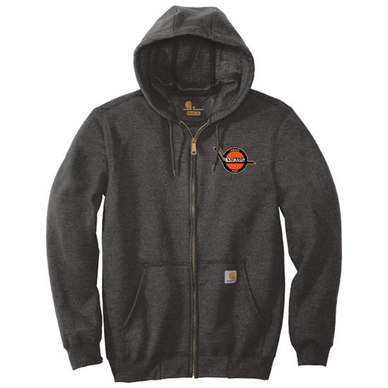 Picture of Omaha Lancers Carhartt® Midweight Full Zip Hooded Sweatshirt