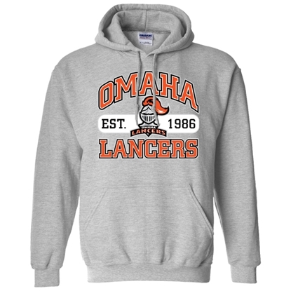 Picture of Lancers Hockey Hooded Sweatshirt (LANCERS-018)