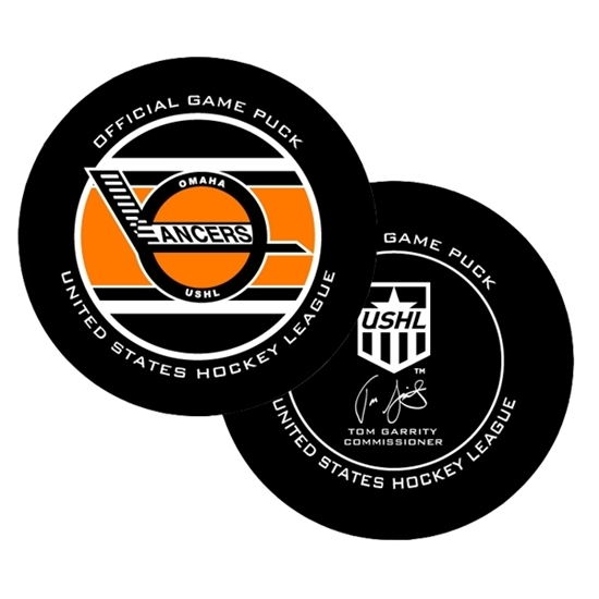 Picture of Omaha Lancers 2019-2020 Official Game Puck