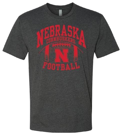 Picture of Nebraska Football Soft Cotton Short Sleeve Shirt (NU-217)