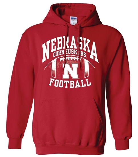 Picture of Nebraska Football Hooded Sweatshirt (NU-217)