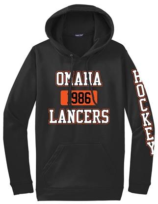 Picture of Omaha Lancers Performance Hooded Sweatshirt