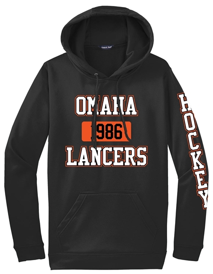 Picture of Omaha Lancers Performance Hooded Sweatshirt