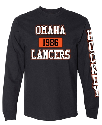 Picture of Omaha Lancers Long Sleeve T-shirt
