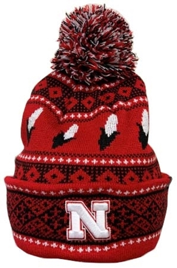 Picture of Nebraska Z Carousel 2 Knit | Stocking Hat